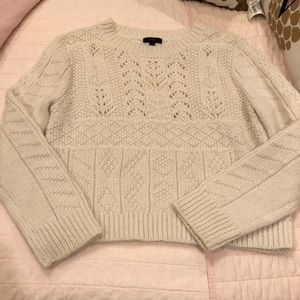 Cream sweater!